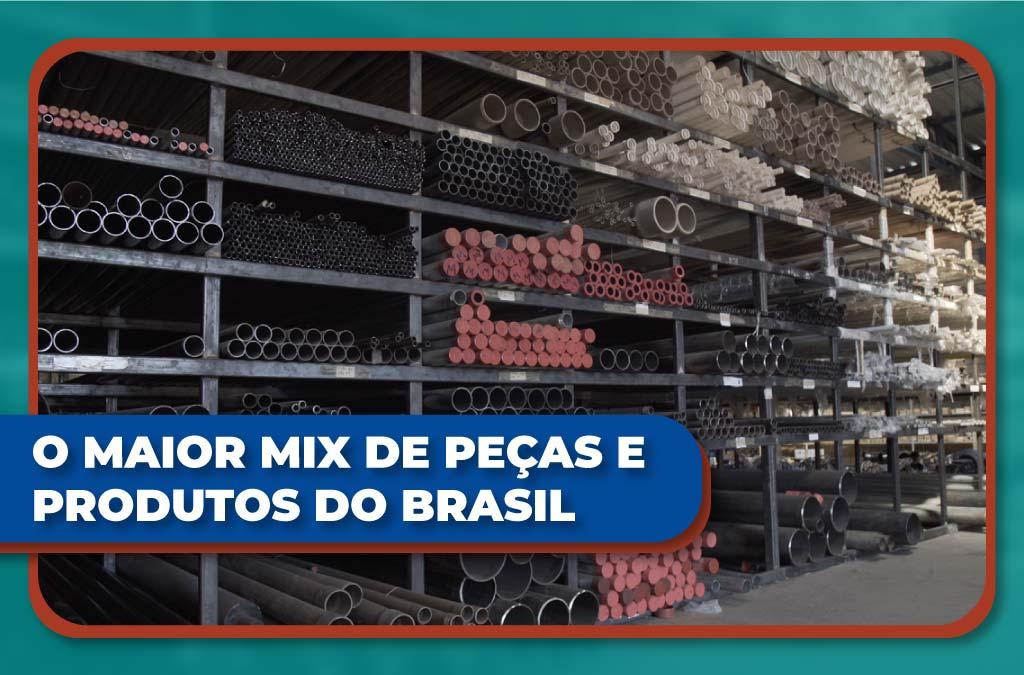 O Maior Mix De Peças E Produtos do Brasil